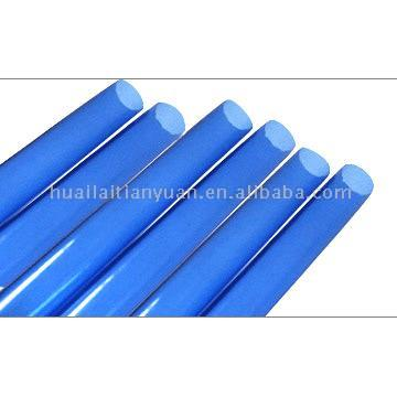 Borosilicate Colored Glass Tubing (Light Blue)