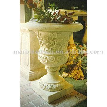 Marble & Granite Flowerpot (Marmor & Granit Blumentopf)