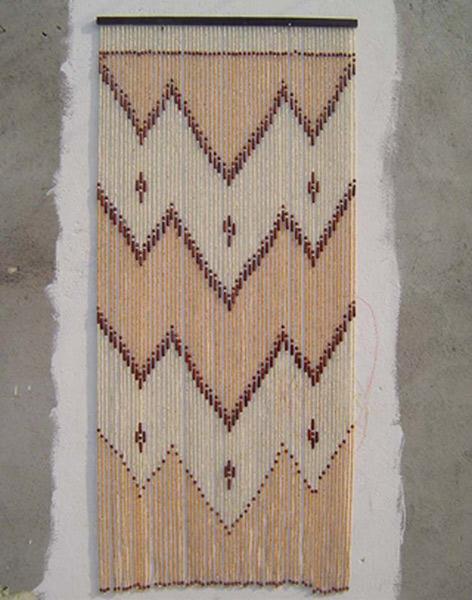 Wooden Bead Door Curtain