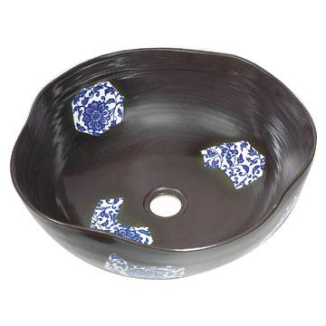 Colorful Ceramic Wash Basin (Красочный керамический Умывальник)