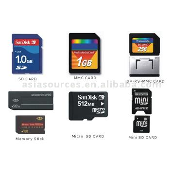 How to Recover Data From a Corrupt Memory Card or