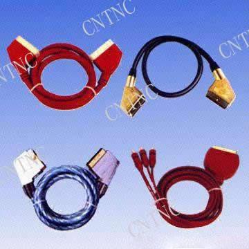 Scart Plug to Scart Plug (Scart Plug К разъему SCART Plug)