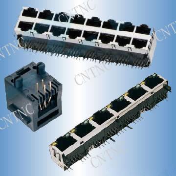 PCB Jack and Modular Plug (PCB Джек и модульный разъем)
