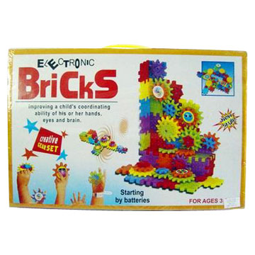 Battery-Operated Building Blocks (Toy) (Батарейках Building Blocks (Toy))