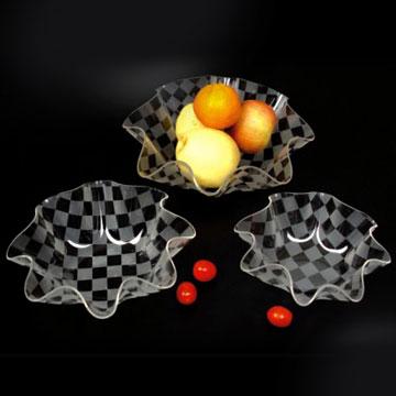 Acrylic Fruit Trays (Акриловые фруктовые лотки)