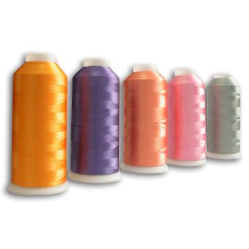 Color Polyester Embroidered Thread (Цвет Полиэстер Вышитая Thread)