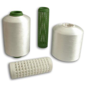 Polyester Thread (Grey with Soft Cone Form) (Полиэфирная нить (серая с мягкой форме конуса))
