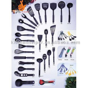 5 Measuring Spoons and 5 Measuring Cups - Cooking Utensils Names And Pictures