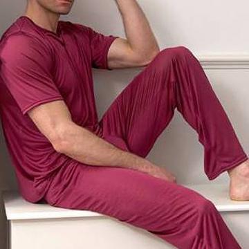 Men`s Silk Loungewear (Мужские Шелкового Loungewear)