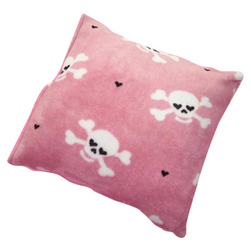 coral fleece cushion (Коралловые подушке руно)