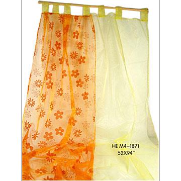 Amazon.com: (Price/piece)Floral Design Shower Curtain + 10