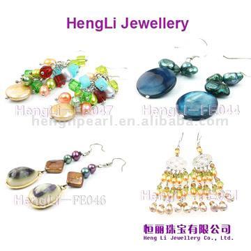 Freshwater Pearl Earrings (Süßwasser Perlen Ohrringe)