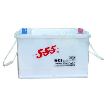 555 BRAND CAR BATTERY (555 BRAND Аккумуляторы)