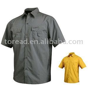 Huanlong Short Sleeve Quick-Drying Shirt (Huanlong Кратко рукава быстросохнущие Рубашка)