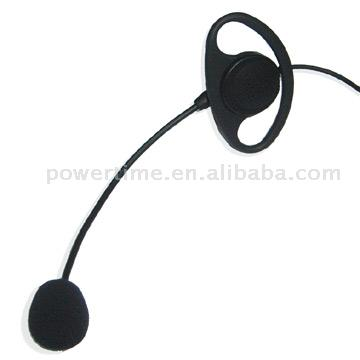 Earhanger Headset for Two Way Radio oder Walkie Talkie (Earhanger Headset for Two Way Radio oder Walkie Talkie)