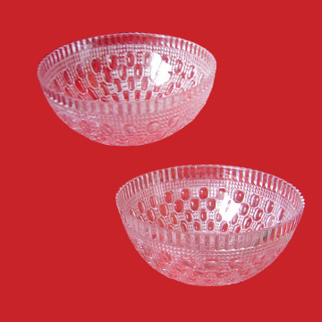 Crystal Clear Plastic Footed Bowl (Crystal Clear пластиковые Footed Чаша)