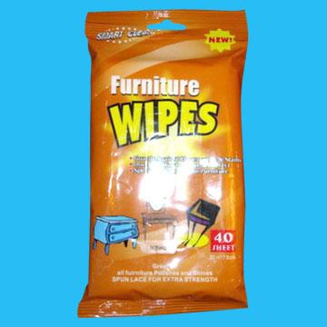 Wet Wipe for Cleaning Furniture (Влажные салфетки для чистки мебели)