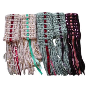 детский свитер из мохера спицами. вязание ажурного шарфа из мохера.
