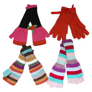 Ladies Acrylic Long Gloves (Акриловые дамы длинные перчатки) .
