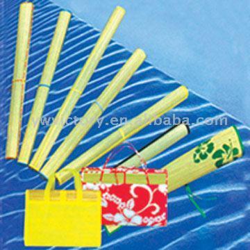 Straw Beach Mat (Солома Be h Матем)