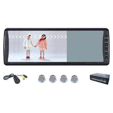 7-inch Rearview Monitor With Parking Sensors And Camera (7-дюймовый монитор заднего с парковочными датчиками и камерой)