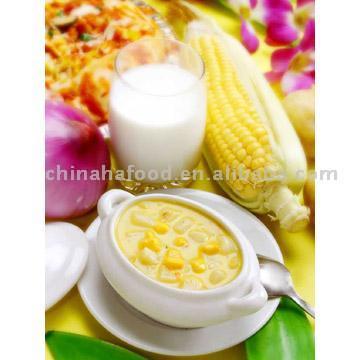 Sweet Corn Pottage (Сладкая кукуруза похлебка)