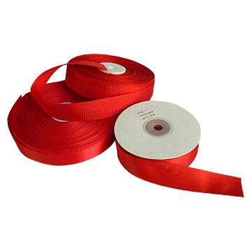 Single Face Circle Bore Satin Ribbons (Одно лицо Диаметр круга атласные ленты)