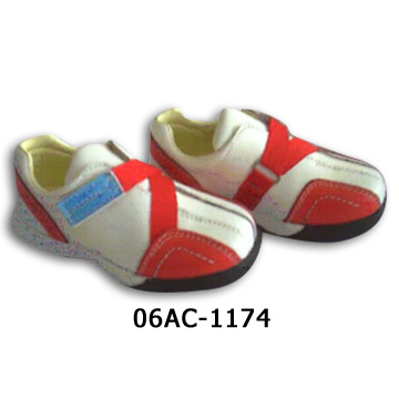 Kids` Leather Shoes (Детская кожа `Shoes)