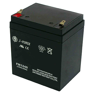 Sealed Lead Acid Battery on Sealed Lead Acid Battery  12v  4ah