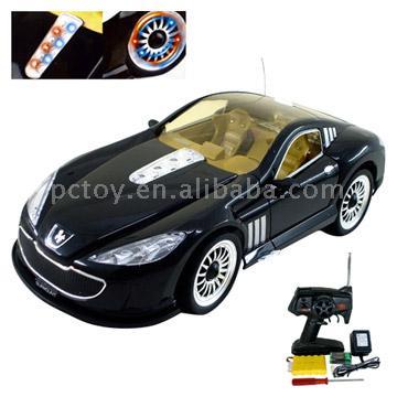 1:14 Full Function R/C Car with Lights (Полнофункциональный 1:14 R / C Car с огнями)