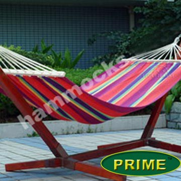 Hammock with Solid Wooden Stand(FSC Certificated)