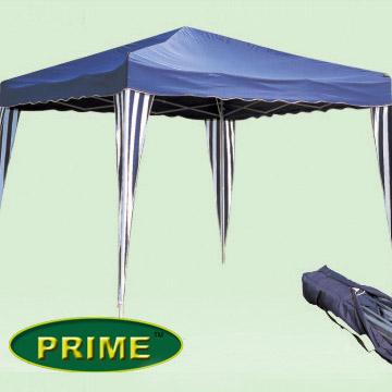 3m X 3m Large Aluminium Folding Gazebo - Easy Set Up ! (3m x 3m große Aluminium Folding Gazebo - Easy Set Up!)