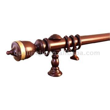 Wooden Curtain Rod (Деревянный карниз)