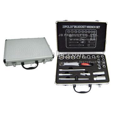 22pcs Socket Tool Set (CRV)