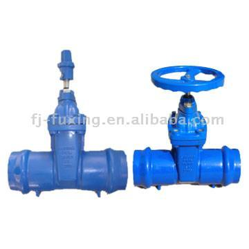 Resilient-Seated Gate Valve (Double-Scoketted Type) (Resilient укоренившиеся Задвижки (двухэтажные Scoketted тип))