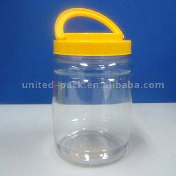 Plastic Jar (Пластмассовой емкости с крышкой)