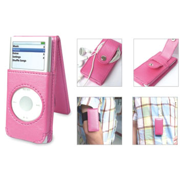 Leather Case for iPod Nano 2nd (Кожаный чехол для Ipod Nano 2)