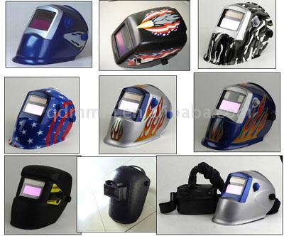 Auto-Darkening Welding Helmet (CE Certificate)