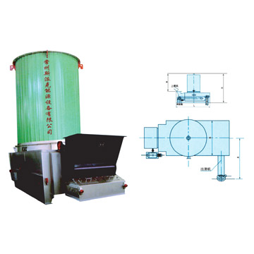 Chain-Grate Barrel Furnace
