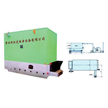 Chain-Grate Coking Furnace