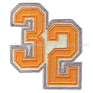 Applique Embroidery Badges and Patches ( Applique Embroidery Badges and Patches)