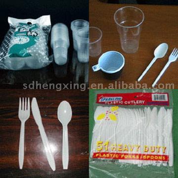 Plastic Cutlery (Пластиковые столовые приборы)