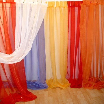 100% Polyester Voile Curtain