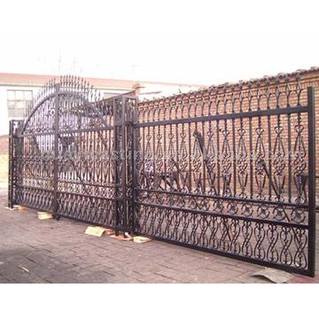 Cast Iron Big Gate and Fence