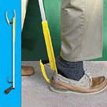 Shoe Horn and Pick Up Tool
