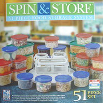 51pc Spin and Storage Set
