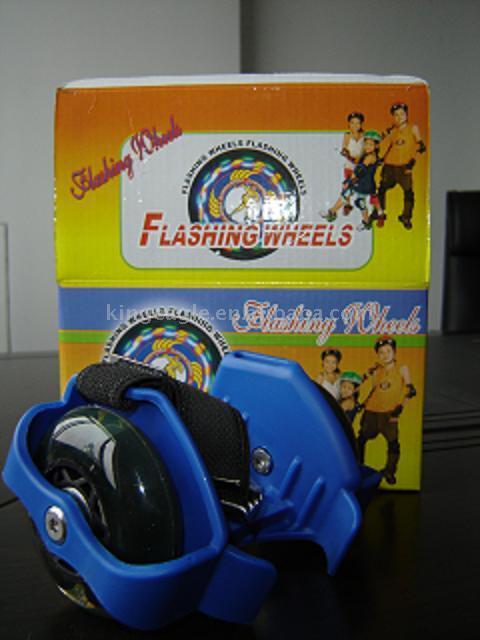 Roller Skates, Flashing Wheels, Street Gliders, Small Wheel Pulleys, Street (Роликовые коньки, мигающий Колеса, улица планеров, маленькое колесо шкивы, улица)