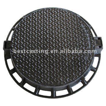 Round Manhole Cover (Круглый люк)