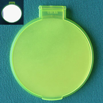 Contact Lens Box with Mirror (Contact Lens Case avec miroir)