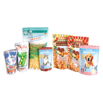Standing Pouches for Food Packing (Постоянный Мешочки для упаковки продуктов питания)